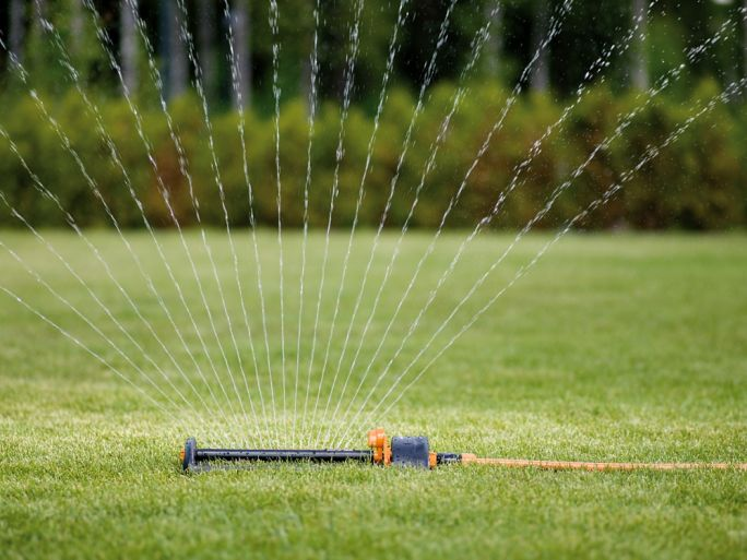 zraszacz oszczędzający wodę