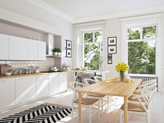 nowoczesne krzesła do bialej kuchni