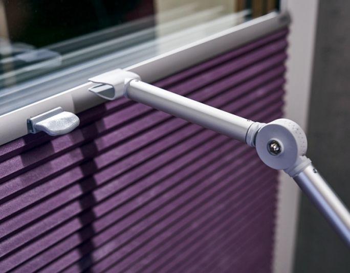osłony okienne plisy