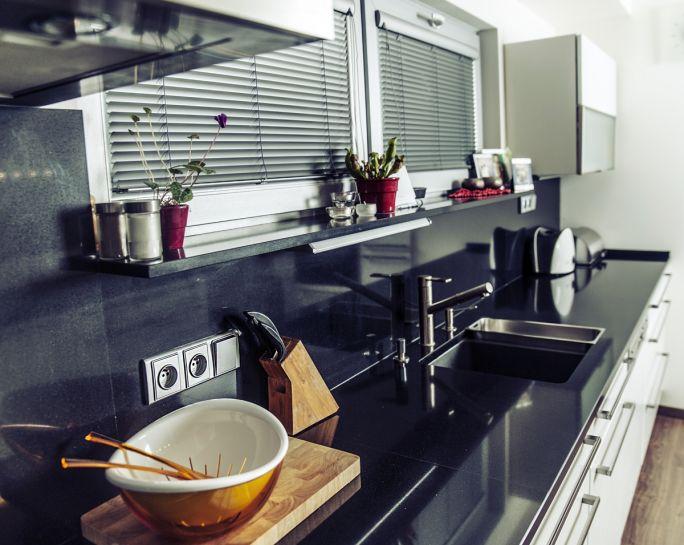 blat  kwarcytowy do kuchni