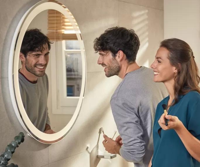 nowoczesne lustra do łazienki