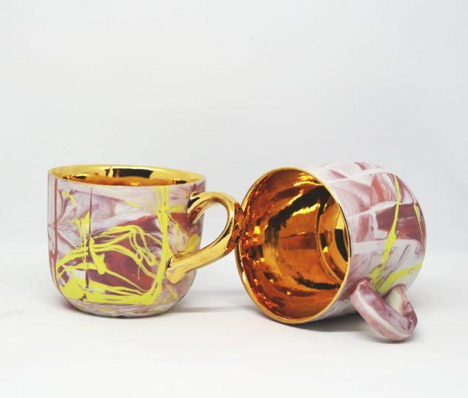 Mosko Ceramics kubek różowy