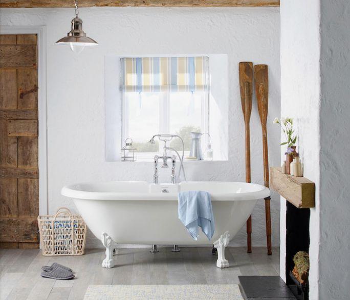łazienka rustykalna aranżacje
