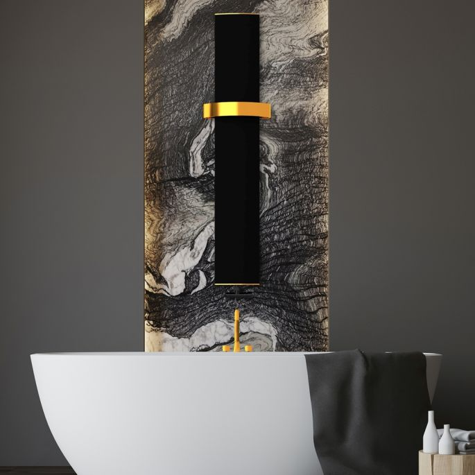 elegancki grzejnik łazienkowy