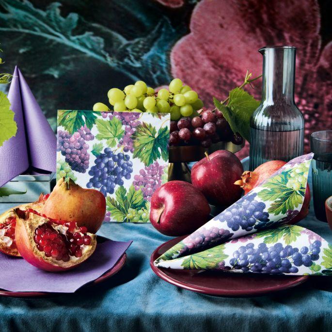 Dekoracje na co dzień, na przyjęcie i na święta – wybieramy serwetki na stół
