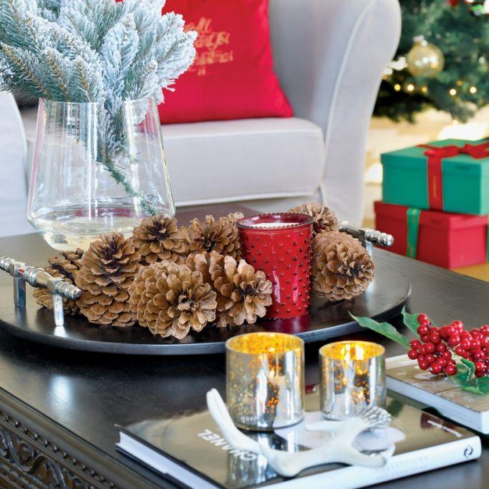 Czerwono-srebrne Boże Narodzenie w nowojorskim stylu