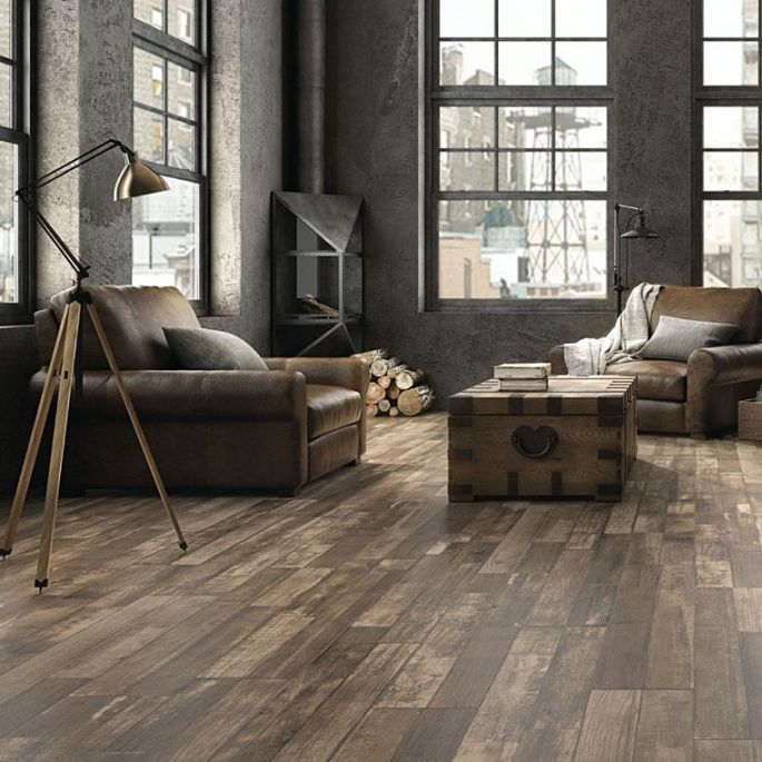 najpiękniejsze płytki drewnopodobne na podłogę