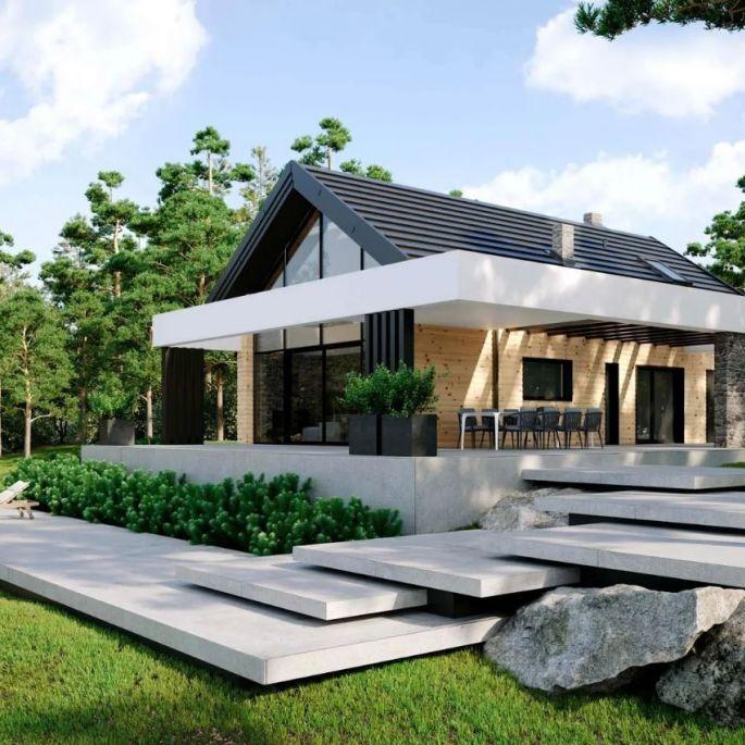 Twój pierwszy dom! Najpiękniejsze projekty małych domów