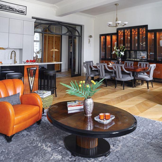 mieszkanie w stylu art deco