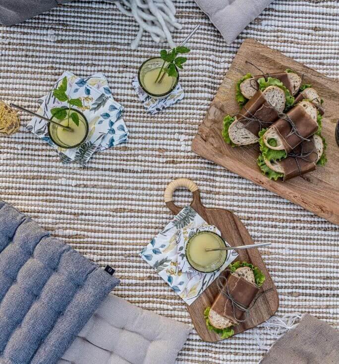 jak podać przekąski piknikowe