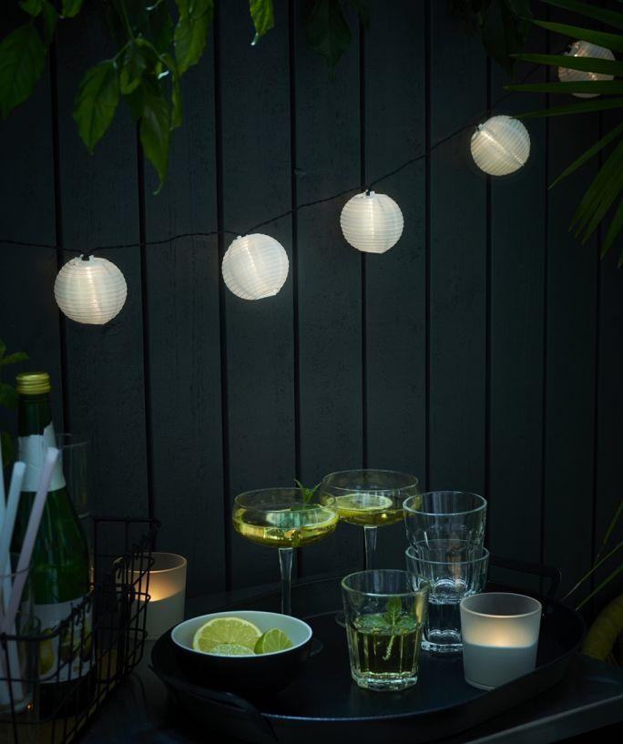 oświetlenie tarasu i ogrodu