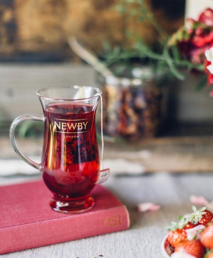 szklanka do herbat rozkwitających