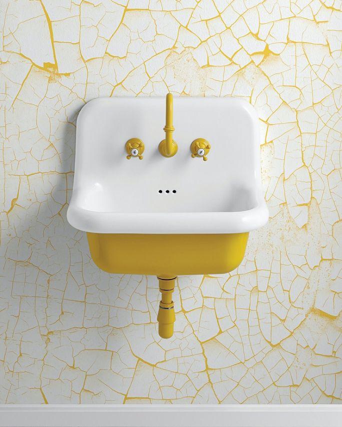 kolorowa umywalka do łazienki