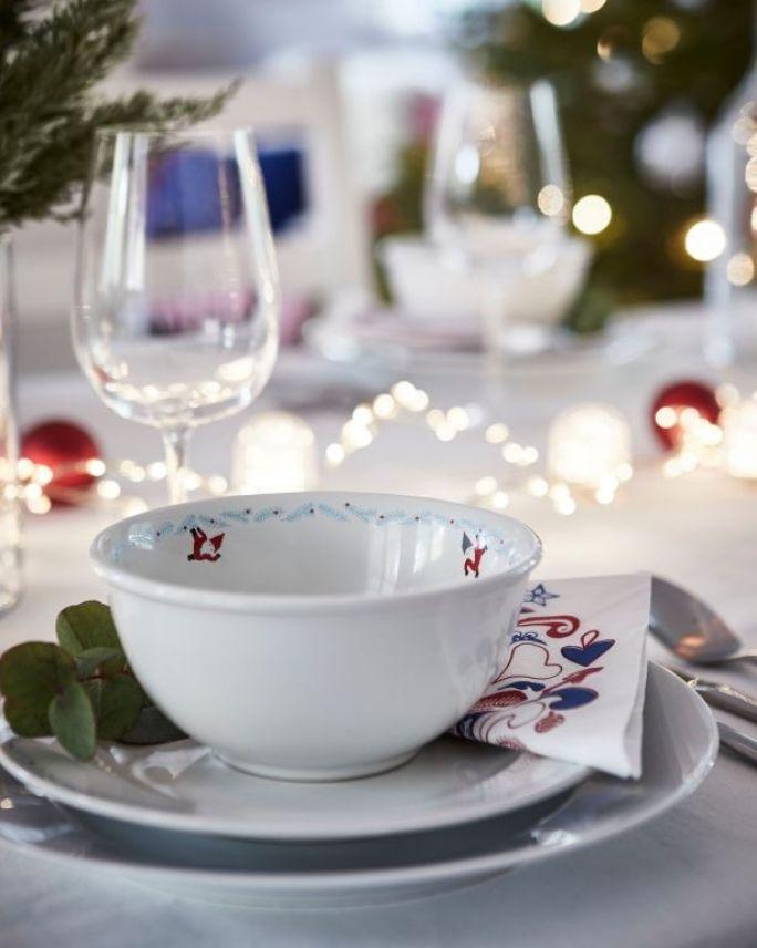 dekoracja stołu na święta bożego narodzenia