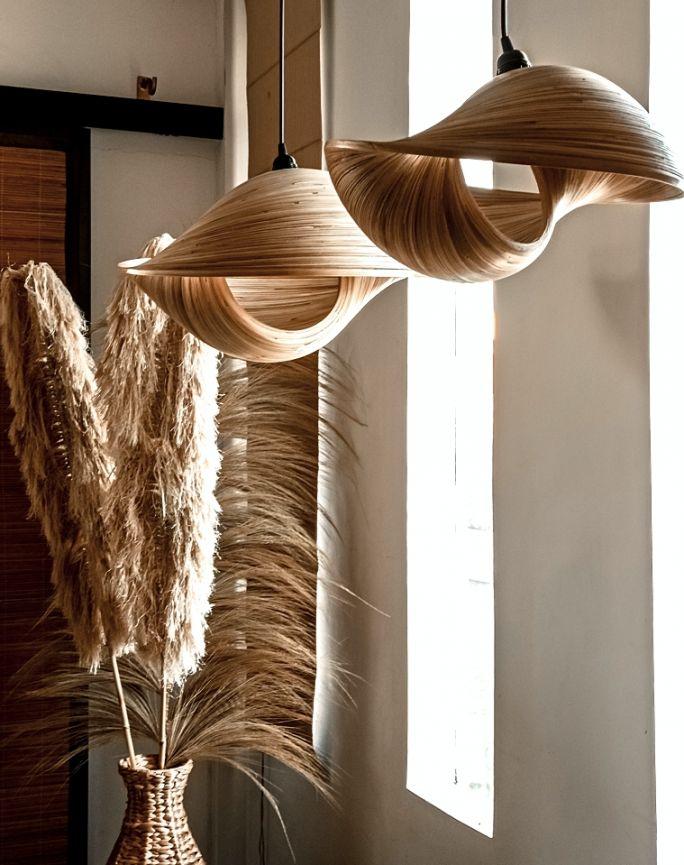 lampy wiszące boho