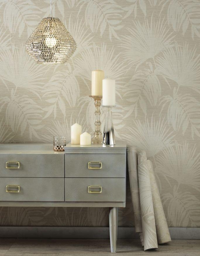 dekoracyjna ściana w salonie tapeta ścienna