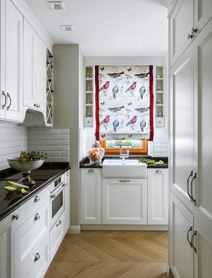 zabudowa okna w kuchni