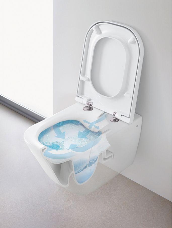 roca toaleta bezkołnierzowa
