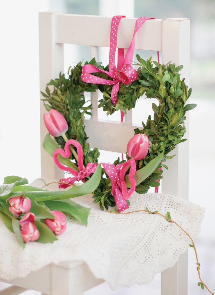 dekoracje z tulipanów