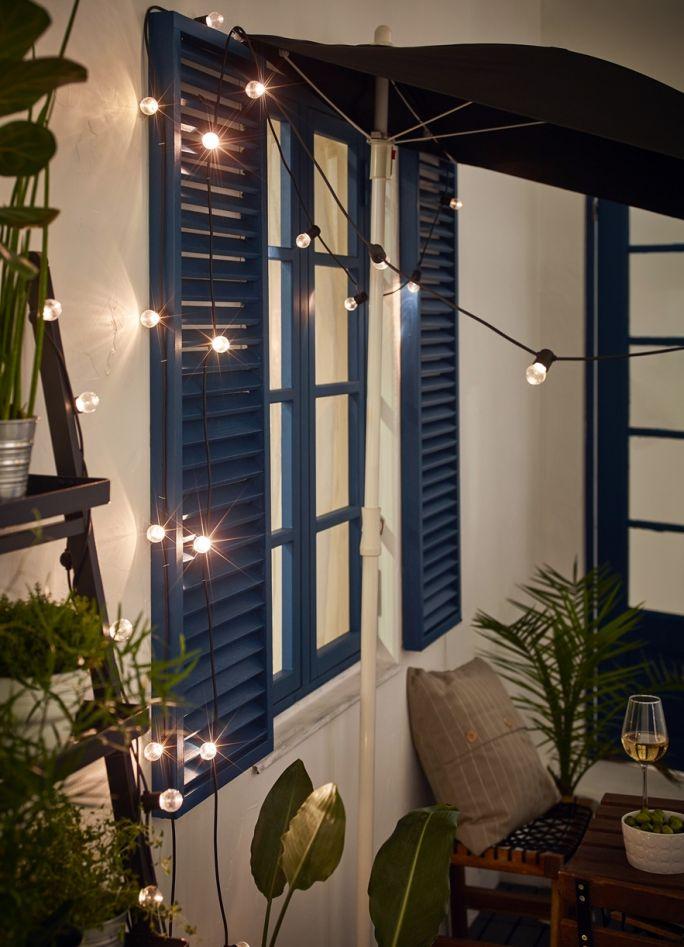 czym oświetlić balkon i ogród
