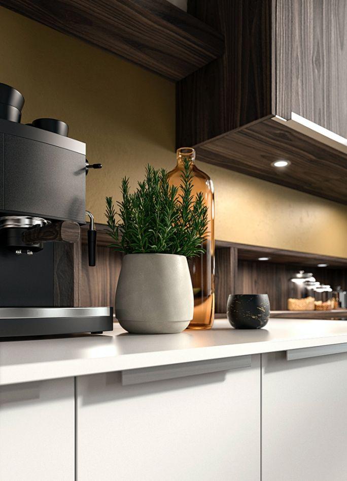 lakierowane fronty w kuchni