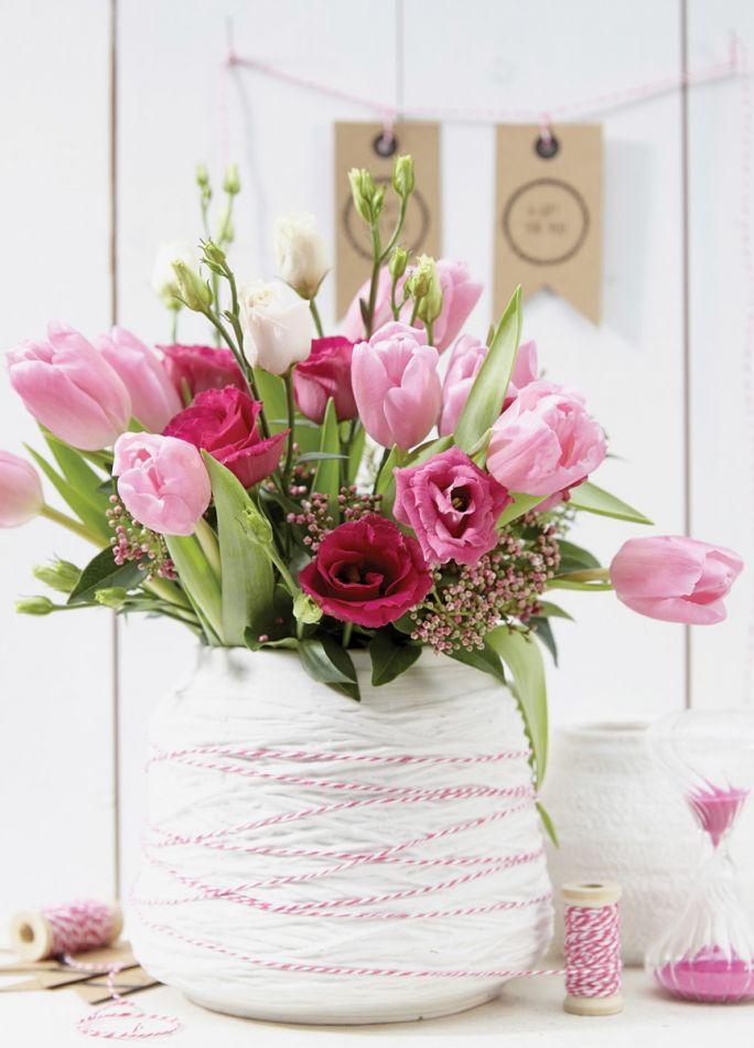 jak zrobić bukiet z tulipanów