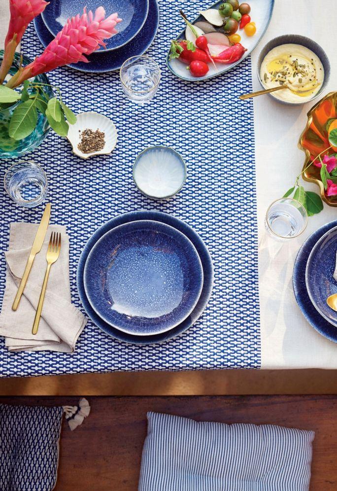 pomysły na letnie nakrycia stołu