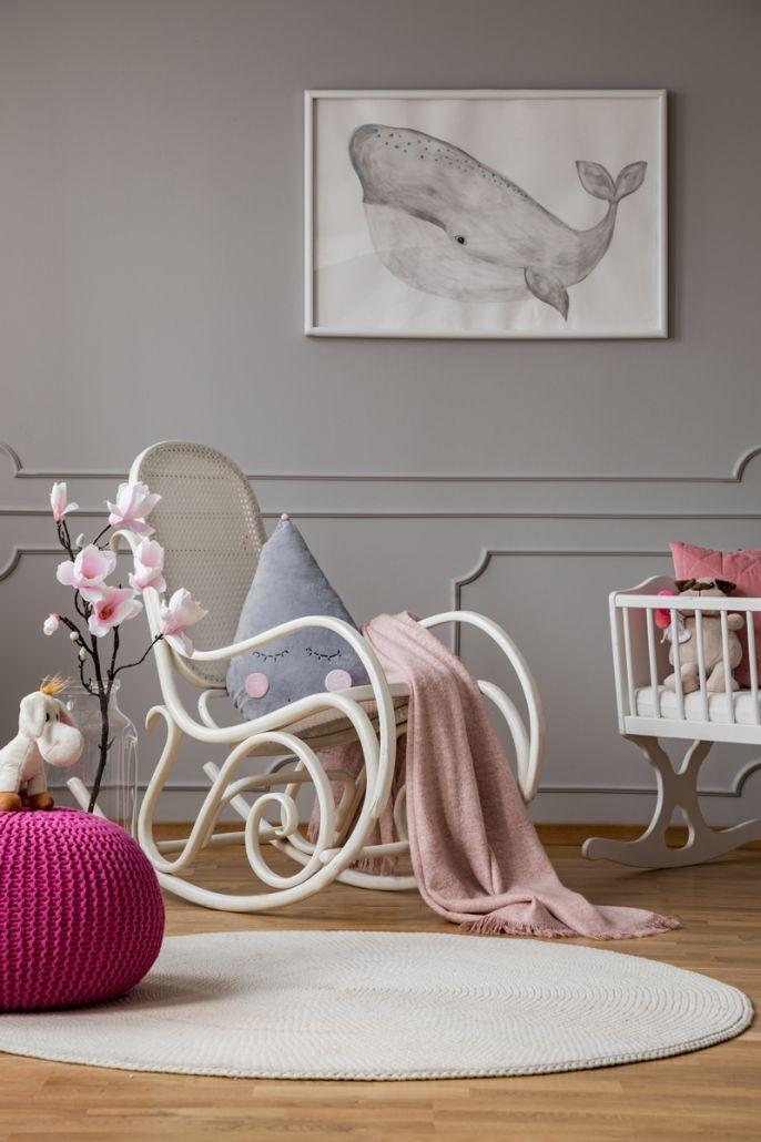 pokój niemowlaka inspiracje
