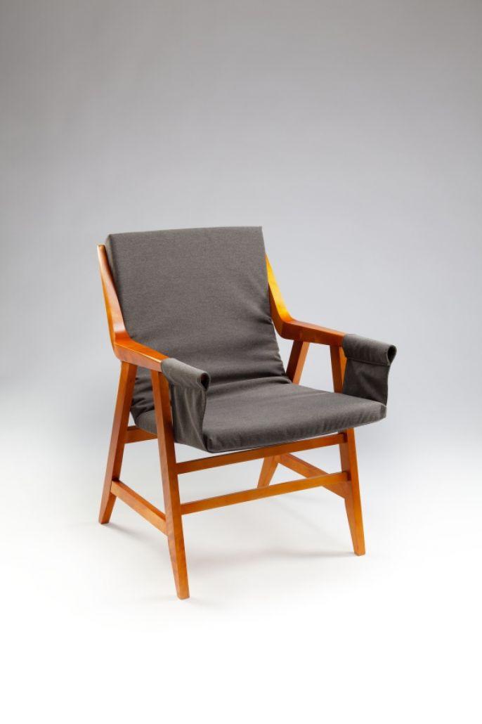 Fotel, 1957 rok, Maria Chomentowska