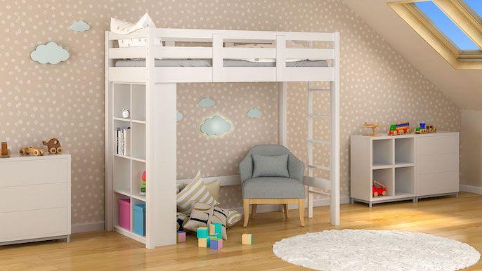 łóżko dziecięce antresola