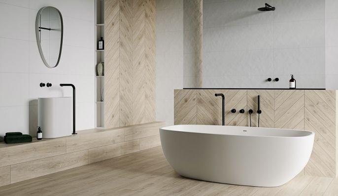 łazienka w stylu japadni