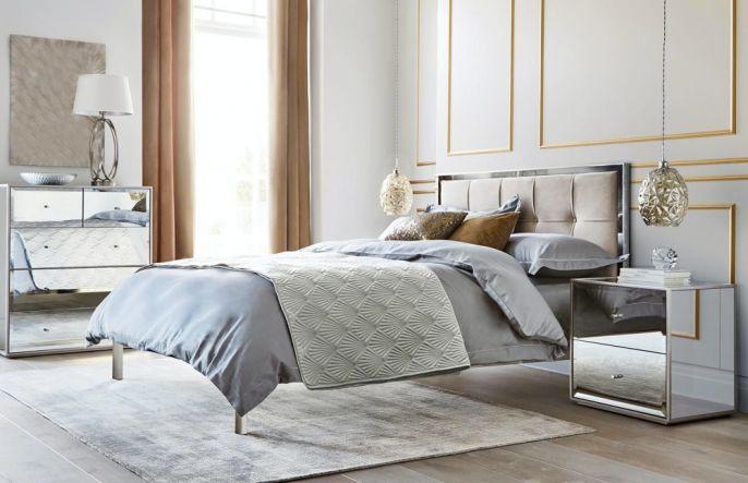 łóżko glamour