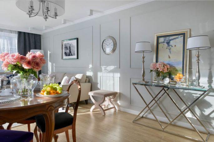 mieszkanie w stylu modern classic