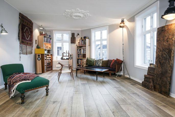 stylizowane podłogi z drewna