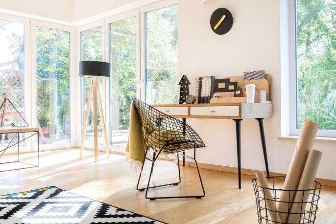 nowoczesne krzesła do biura