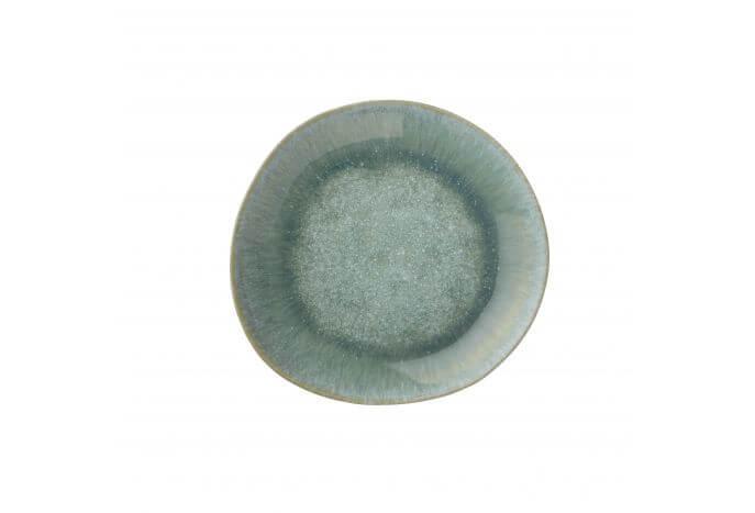 Ceramiczny talerz Jazzy Aqua