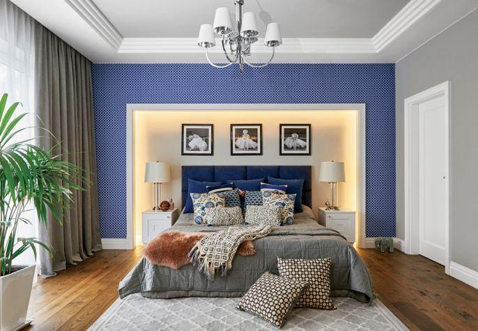 jak dobrać kolor ścian do drewnianej podłogi w sypialni