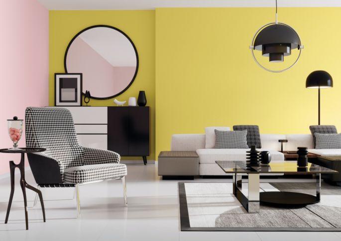 modne kolory ścian w salonie