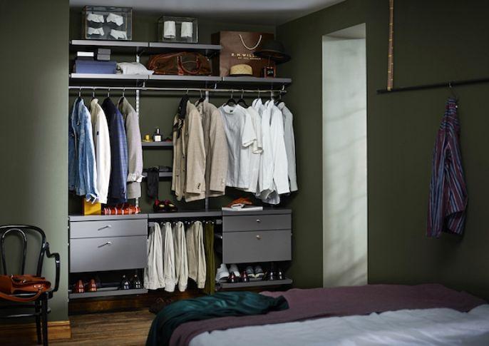 mała garderoba aranżacja