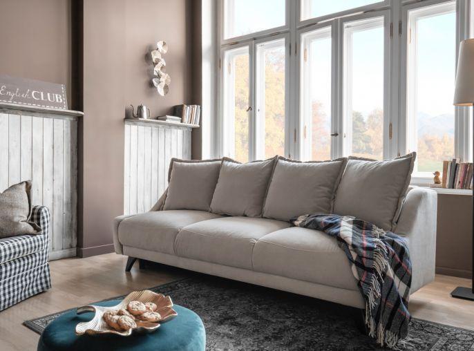 Sofa rozkładana z kolekcji Royal Rose, MIUFORM