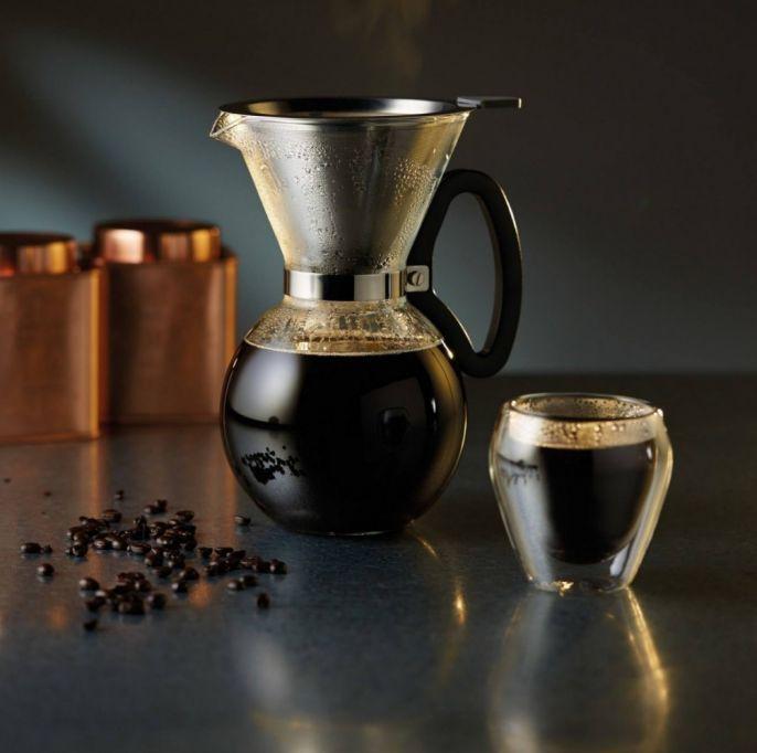 Dzbanek z filtrem do wolnego parzenia kawy, Kitchen Craft, fabrykaform.pl