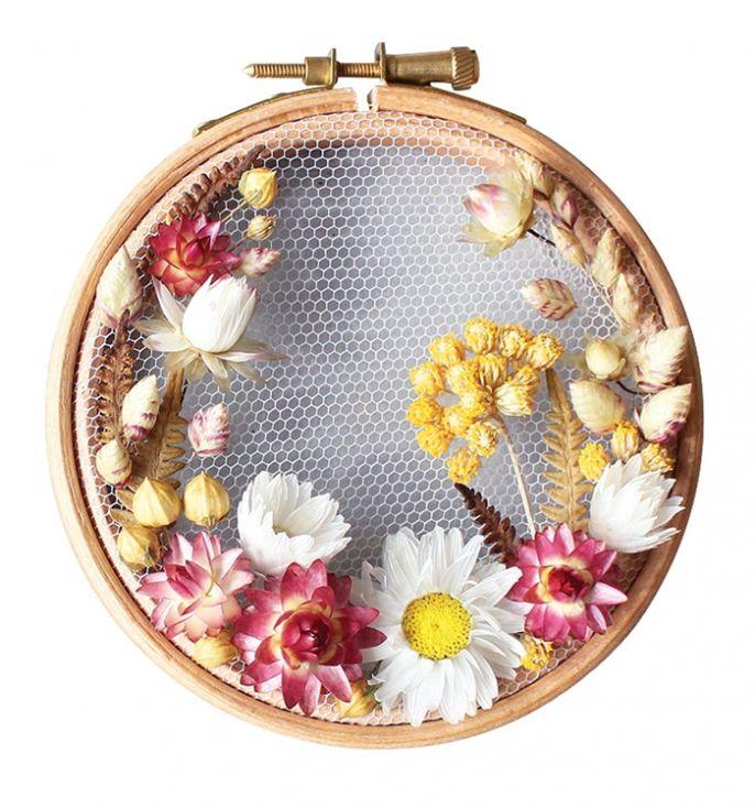 Olga Prinku tamborki z kwiatami