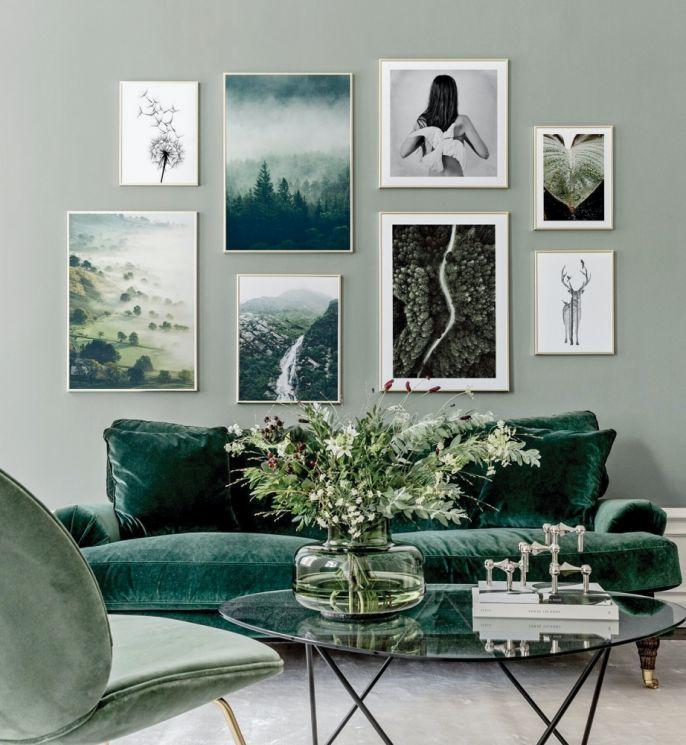 modne kolory ścian aranżacje