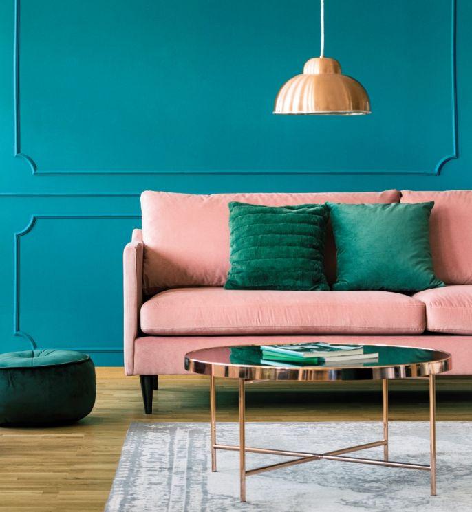 modne kolory ścian w mieszkaniu