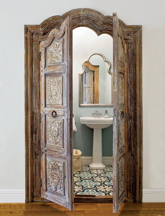 Drzwi z marokańską konieczyną