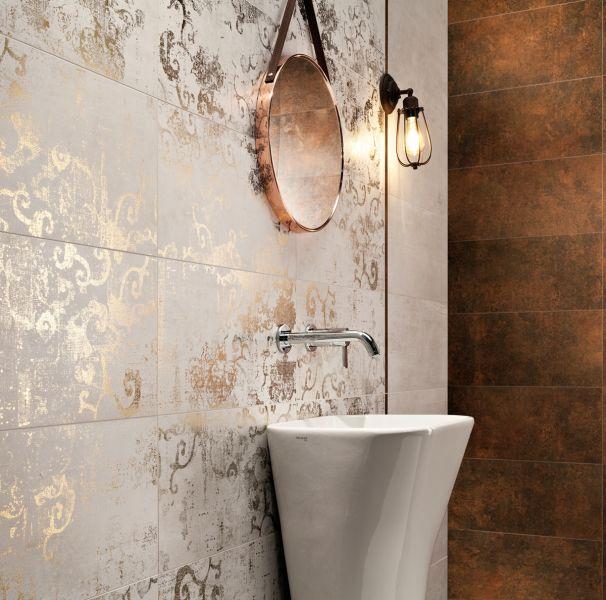 Modna łazienka – płytki dekoracyjne w roli głównej