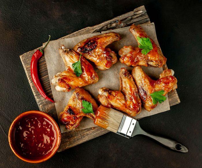 grillowane skrzydełka kurczaka