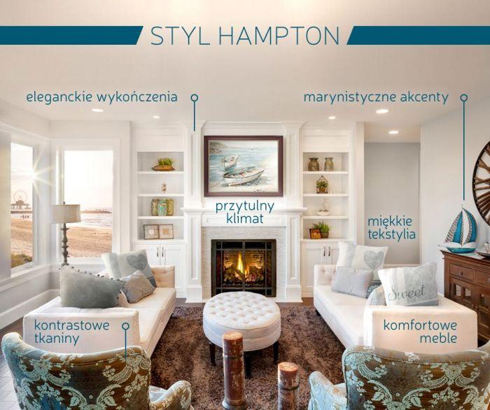 Nadmorska elegancja – sekret stylu hampton
