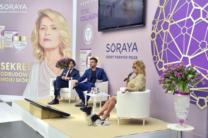Ewa Kasprzyk ambasadorką linii Soraya Total Collagen