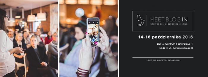 Spotkanie dla blogerów i vlogerów wnętrzarskich: Meetblogin 2016